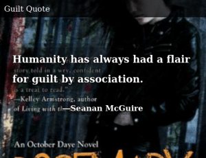 SIZZLE: Humanity has always had a flair for guilt by association.