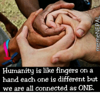 Beautiful, Fingering, and Connected: Humanity is like fingers on a  hand each one is different but  we are all connected as ONE Beauty doesn't lie in stolen freedom 😑