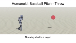 When you set a goal for your neural network, and it *technically* has the correct output.: Humanoid: Baseball Pitch Throw  Throwing a ball to a target When you set a goal for your neural network, and it *technically* has the correct output.