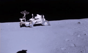 """Driving, Target, and Tumblr: humanoidhistory: pneumaticpoots:  humanoidhistory: 45 YEARS AGO TODAY: Astronaut John Young puts the lunar rover through its paces in the famous Apollo 16 """"grand prix"""" on the Moon, April 21, 1972. Like honestly, I was about to just keep scrolling. I wasn't impressed or interested. I wasn't IMPRESSED or INTERESTED in a human driving on the MOON. What kind of world do we live in. I was about to scroll past a man DRIVING ON THE MOON.  My reblog's a bit late, but here we are."""