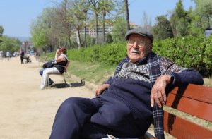 "Barcelona, Friends, and Life: humansofnewyork:""I'm ninety-six years old.  I'd rather just take a pill and get it over with.  Whenever I tell that to my wife, she pretends to slap me in the face.  But I'm ready to go.  And I'd like it to be sudden.  I've had a good run.  I was lucky enough to share my life with someone.  She's ninety now.  We've had a lot of time together.  We have seven grandchildren.  Eight great-grandchildren.  But there are just so many things I can't do anymore.  I have the money.  I have the time.  Just not the ability.  Whenever I walk, everything hurts. I enjoy sitting here in the park.  I think about all the friends that I've lost.  People come talk to me.  Time passes by.  But I'm ready.  I'm not scared of it.  I'd like my soul to go to wherever the souls go.""(Barcelona, Spain)"