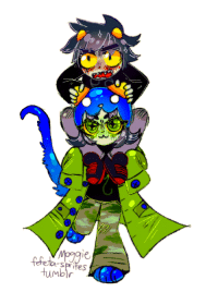 Target, Tumblr, and Blog: Humbir fefeta-sprites:  people think nepeta is weak and that makes me laugh a lot