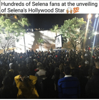 Love, Memes, and Selena: Hundreds of Selena fans at the unveiling  of Selena's Hollywood Star Feeling the love of the people! ❤️🌹❤️ Shout out to the amazing youth of @brownissues for representing! PC: @atrujillo88 selenaquintanilla selena selenahollywoodstar hollywoodstar comolaflor dreamingofyou