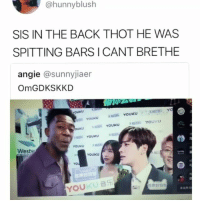 "Memes, Thot, and Time: @hunnyblush  SIS IN THE BACK THOT HE WAS  SPITTING BARS ICANT BRETHE  angie @sunnyjiaer  OmGDKSKKD  ·""».  HOǐ YOUKU  SS YOUKU  YOUKU  Westw  YOU ,音乐  未说Ana This the first time I understood every word he said 😂 • Follow @savagememesss for more posts daily"