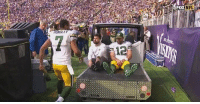 """Packers backup QB was running over to Aaron Rodgers like: """"Wait, what do I do now? PLEASE COME BACK!!!"""" https://t.co/kD1ffR9pkC: HUNOLE Packers backup QB was running over to Aaron Rodgers like: """"Wait, what do I do now? PLEASE COME BACK!!!"""" https://t.co/kD1ffR9pkC"""