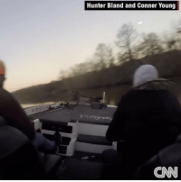 "Memes, Cruise, and Boat: Hunter Bland and Conner Young Repost: @CNN-""Thank the lord we are alive"": These two University of Florida students went flying when they say their boat malfunctioned after hitting wake at a fishing tournament. Dramatic footage shows the two cruising along when something went horrifically awry."" 😳🐠😩 WSHH"