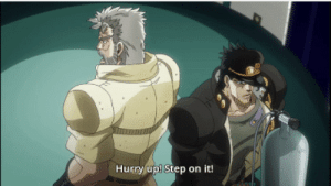 Mom, Asking, and Her: Hurry up! Step on it! My mom asking me to kill a cockroach for her: