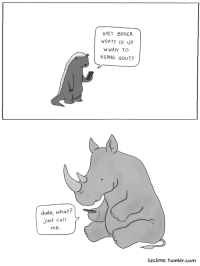 "<p><a class=""tumblr_blog"" href=""http://lizclimo.tumblr.com/post/52273516979/when-rhinos-text"" target=""_blank"">lizclimo</a>:</p> <blockquote> <p>when rhinos text</p> </blockquote>: HYEY BDGER  WSATT ID UP  WWAN TO  HSANG GOUT?  dude, what?  Just call  me.  lizclimo. tumblr.com <p><a class=""tumblr_blog"" href=""http://lizclimo.tumblr.com/post/52273516979/when-rhinos-text"" target=""_blank"">lizclimo</a>:</p> <blockquote> <p>when rhinos text</p> </blockquote>"