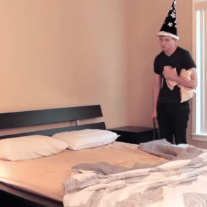 Dude, Fucking, and Parents: hzs-modblog:  my-little-ninja:  theartoflaika:  vonmunsterr:  dashbeardconfessional:  When your stupid wizard parents force you to make the bed.  this is a fucking cinematic masterpiece   Fun fact: Kevin Parry, the dude in this vine works for Laika and did animation on The Boxtrolls and Kubo and the Two Strings.  ive reblogged this before but not with that last addition  Same here. That's impressive.