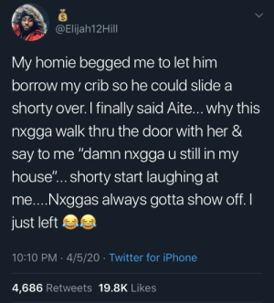 I'd have rescinded my offer right there and then (via /r/BlackPeopleTwitter): I'd have rescinded my offer right there and then (via /r/BlackPeopleTwitter)