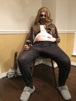 I'm 6 months pregnant, but I didn't want to do one of the standard pregnancy costumes.: I'm 6 months pregnant, but I didn't want to do one of the standard pregnancy costumes.