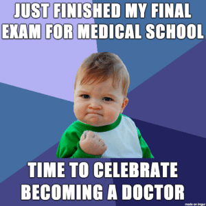 I'm finally done with medical school : I'm finally done with medical school