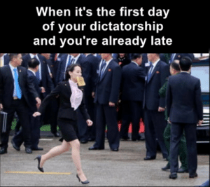 I'm gonna be late for my first public execution!: I'm gonna be late for my first public execution!