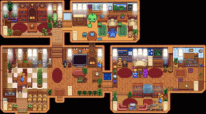 I'm so happy! I just finished my house after marrying Penny (best girl). Notice the poppy's I planted in her room.: I'm so happy! I just finished my house after marrying Penny (best girl). Notice the poppy's I planted in her room.