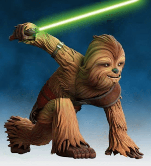 I've been seeing baby yoda memes, even baby jabba. But can't we get some love for child Jedi Wookiee from the clone wars: I've been seeing baby yoda memes, even baby jabba. But can't we get some love for child Jedi Wookiee from the clone wars