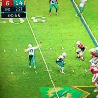 Nfl, History, and Nfl History: i 6 14  2ND 2:27  2ND & 6 Ryan Tannehill submits his ballot for the worst pass in NFL history...
