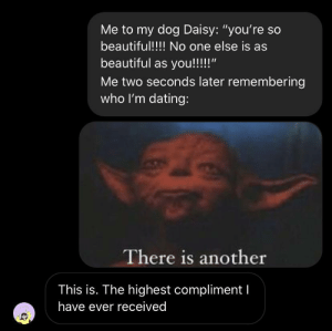I added my gf's response as a lil cherry on top to this weirdly formatted meme: I added my gf's response as a lil cherry on top to this weirdly formatted meme