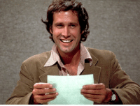"""""""I always fly first class. To remind myself."""" —Chevy Chase, who turns 73 today: """"I always fly first class. To remind myself."""" —Chevy Chase, who turns 73 today"""