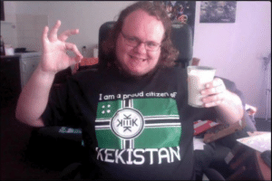 Funny, Trolling, and Cool: I am a proud citizen oF  KEKISTAN Le epic gamer in the cool Kekistan flag, trolling them lefties haha very funny.