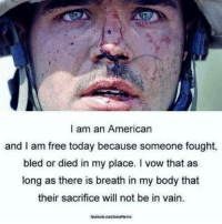 Duty calls WOLF PACK  !  I'll try to check in later  !                                      War Eagle: I am an American  and I am free today because someone fought,  bled or died in my place. I vow that as  long as there is breath in my body that  their sacrifice will not be in vain. Duty calls WOLF PACK  !  I'll try to check in later  !                                      War Eagle