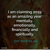 ❤️❤️. Art by @archannair . . . . . . . buddha mindfulness empowerment spiritualawakening consciousness higherself selfdevelopment universe zen lawofattraction successmindset meditation spiritual enlightenment loveyourself focus awakening foodforthought quotestoliveby relationshipgoals mindset goodvibesonly amen quotesaboutlife spiritualdevelopment selflove pray ascension: I am claiming 2019  as an amazing year.  mentally,  emotionally,  financially and  spiritually  TYPE YES' IF YOU DO!  Spirit Science  ARCHANN NET ❤️❤️. Art by @archannair . . . . . . . buddha mindfulness empowerment spiritualawakening consciousness higherself selfdevelopment universe zen lawofattraction successmindset meditation spiritual enlightenment loveyourself focus awakening foodforthought quotestoliveby relationshipgoals mindset goodvibesonly amen quotesaboutlife spiritualdevelopment selflove pray ascension