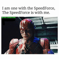 Memes, 🤖, and Flash: I am one with the SpeedForce,  The Speed Force is with me.  @THEGEEKGUIDE From @the.geekguide - Round 2 ..let's see how many star wars fanboys get butthurt. Cause there sure were alot of marvel fanboys crying in the Flash-Iron Fist meme 😎😂 barryallen EzraMiller flash theflash dceu dc DCComics justiceleague unitetheseven zacksnyder starwars