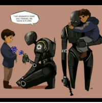 IM NOT EMO YOURE EMO WHO PUT THE ONIONS HERE!!??? - Credit to the artist. Comment if you know them! - ~👠 starwars starwarsrogueone rogueone cassianandor k2so @thestarwarsdaily: I am pleased to meet  you, My  name is K-2SO, IM NOT EMO YOURE EMO WHO PUT THE ONIONS HERE!!??? - Credit to the artist. Comment if you know them! - ~👠 starwars starwarsrogueone rogueone cassianandor k2so @thestarwarsdaily