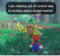 Gif, Tumblr, and Control: I am rotating out of control due  to anxiety about recent events! adamsmasher: