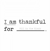 I am thankful for Jesus!: I am thankful  @Trust for  Fill in the blank I am thankful for Jesus!