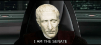 Senations: I AM THE SENATE