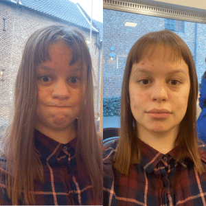 I asked FOUR times if bangs were an option. After he was done and i complained he said 'bangs don't work with your hair' 1 is the first hairdresser, 2 is the second who said 'ooh fuck' and tried to help me.: I asked FOUR times if bangs were an option. After he was done and i complained he said 'bangs don't work with your hair' 1 is the first hairdresser, 2 is the second who said 'ooh fuck' and tried to help me.