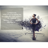 """Memes, 🤖, and Grace: I asked God,  Why are you taking me  through troubled water?""""  He replied.  """"Because your enemies  can't swim Understand that all of your test are God's grace. The universe is always working for you! friday motivation @tonyrobbins"""