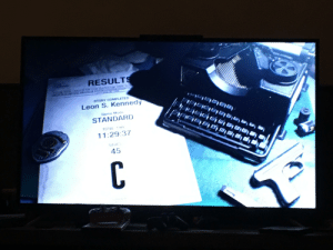 I beat RE2. Such a fun game!! I'm starting on Claire now: I beat RE2. Such a fun game!! I'm starting on Claire now