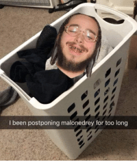 Been, For, and Too: I been postponing malonedrey for too long