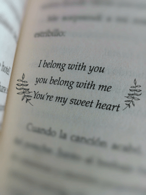 Heart, You, and Sweet: I belong with you  you belong with me  You're my sweet heart