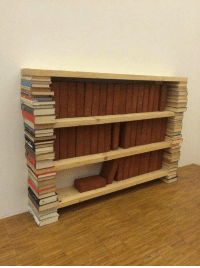 For, Bricks, and Collection: I built a shelf for my bricks collection