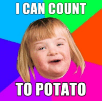 Oh, 2009...: I CAN COUNT  TO POTATO Oh, 2009...