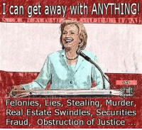 Hildebeast.....the Bible never said anything about the anti-Christ being a man!! 😡  —Annie Oakley   https://www.facebook.com/fartonhillaryclinton/videos/1212349088796776/: I can get away with ANYTHING!  LIVE  shift  felonies, Lies, Stealing, Murder,  Real Estate Swindles, Securities  Fraud, Obstruction of Justice Hildebeast.....the Bible never said anything about the anti-Christ being a man!! 😡  —Annie Oakley   https://www.facebook.com/fartonhillaryclinton/videos/1212349088796776/