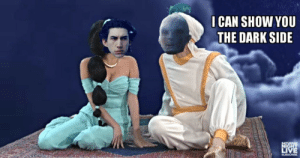 the-secret-life-of-kyloren:  Snoke: I can show you the dark side…   If you understand this I'll love you forever. : I CAN SHOW YOU  THE DARK SIDE  SATURDAY  NIGHT  LIVE  SUBSCRE the-secret-life-of-kyloren:  Snoke: I can show you the dark side…   If you understand this I'll love you forever.