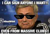 Breaking: ManUtd ready to sign TWO massive players 😱 WTF no way 😳😨👏 Find Out Who.. ➡️ [LINK IN @bestfootballjokes BIO]: I CAN SIGN ANYONE I WANT!!  #DealWithlt  EVEN FROM MASSIVE CLUBS!! Breaking: ManUtd ready to sign TWO massive players 😱 WTF no way 😳😨👏 Find Out Who.. ➡️ [LINK IN @bestfootballjokes BIO]