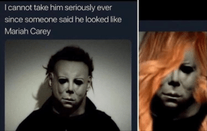 Funny Memes That Are Absolutely Hilarious 32 Pics: I cannot take him seriously ever  since someone said he looked like  Mariah Carey Funny Memes That Are Absolutely Hilarious 32 Pics