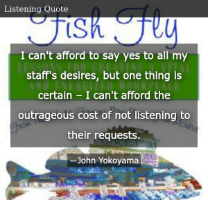 SIZZLE: I can't afford to say yes to all my staff's desires, but one thing is certain – I can't afford the outrageous cost of not listening to their requests.