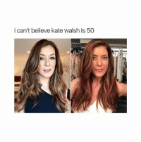 Memes, 🤖, and Kate Walsh: i can't believe kate walsh is 50 i poope