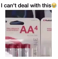 Memes, 🤖, and Cant-Deal: I can't deal with this  Radios  AA4  PERFORMANCE  GUARANTEED  GUA Bruhhh 😂😂😂💀💀 @trapgodbart