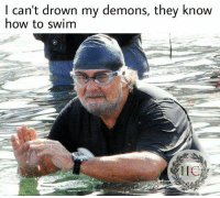 Memes, 🤖, and Drowning: I can't drown my demons, they know  how to swim From Alessandro Sparapan