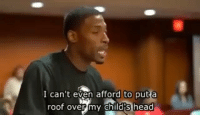 Black Lives Matter, Head, and Memes: I can't even afford to put a  roof over my child's head Please DoubleTap and comment if this moves you. Anyone against raising the wage doesn't care for our vets nor the American people. If the federal minimum wage had risen in step with both inflation and average labor productivity since 1968, the federal minimum wage today would be $26.00 an hour. Our slave wages are a disgrace! 😡 ––––––––––––––––––––––––––– 👍🏻 Turn On Post Notifications! 📝 Register To Vote 📢 Raise Awareness For Our Revolution 💰 Donate to Bernie ––––––––––––––––––––––––––– FeelTheBern BernieSanders Bernie2016 Hillary2016 Obama HillaryClinton President BernieSanders2016 election2016 trump2016 Vegan GoVegan BlackLivesMatter SanDiego Vote California Cali Ca4Bernie BernieOrBUST CaPrimary WhichHillary NeverHillary HillaryForPrison Losangeles DropOutHillary Fresno Sacramento oakland sanfrancisco –––––––––––––––––––––––––––