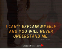 I Cant Explain Myself And You Will Never Understand Me Prak Har