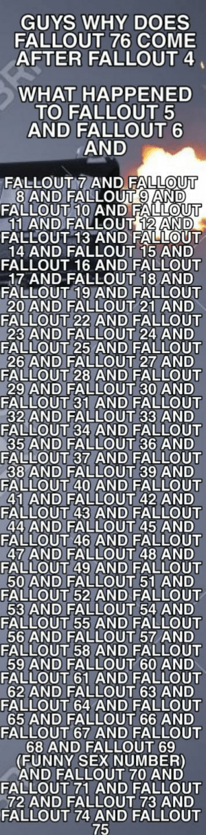 I can't find Fallout 4 in the appstore help pls (please) 😪😪: I can't find Fallout 4 in the appstore help pls (please) 😪😪
