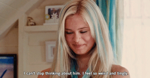 Weird, Http, and Net: I can't stop thinking about him. I feel so weird and tingly http://iglovequotes.net/
