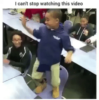 Memes, Girl, and Video: I can't stop watching this video The girl at the end looks so uncomfortable 💀